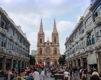 石室圣心大教堂,陈家祠,车陂BRT